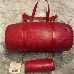Louis Vuitton Epi Rouge Barrel